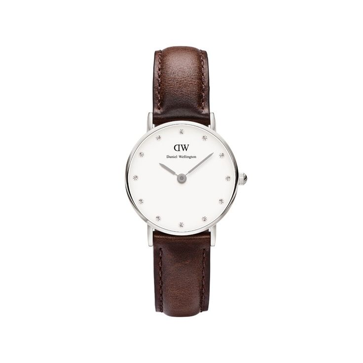 Ladies Daniel Wellington Classy St Andrews ladies' stainless steel and  brown leather strap watch . The Daniel Wellington Classy St Andrews is  defined by ...