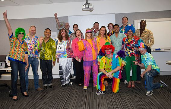 Loud Shirt Day at Cochlear Headquarters in Sydney