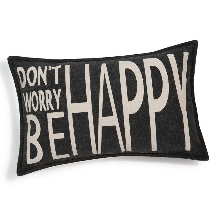 Kissen Be happy
