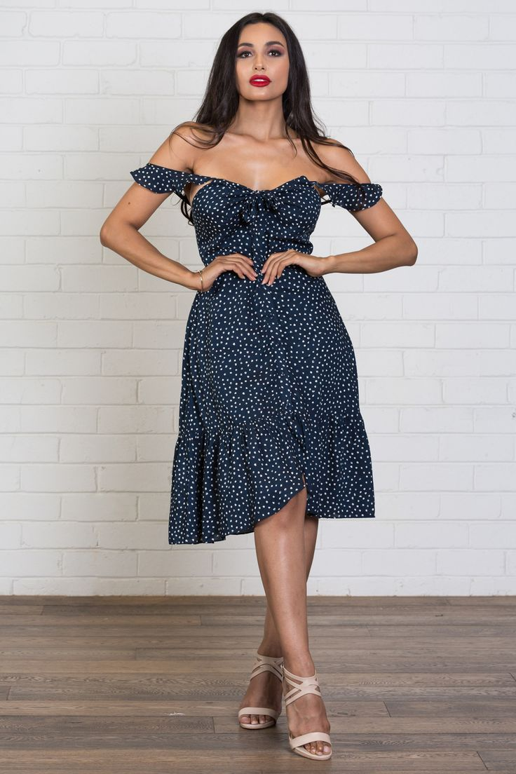 NEW! NEW! NEW! Shop French Kiss dress >>> https://www.urbansport.com.au/home/759-french-kiss-ruffle-hem-dress-navy.html   #urbansport #dress #dresses #navy #navydress #floral #floraldress #cutedress #sweetdress