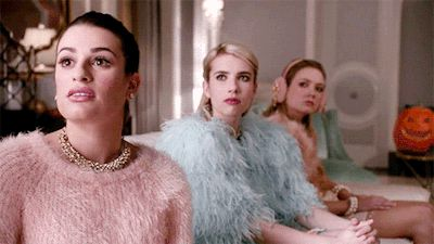 Scream Queens - Lea Michele, Emma Robers