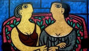 alejandro bonome - vos- muestra de una de las 25 obras del artista cordobés.
