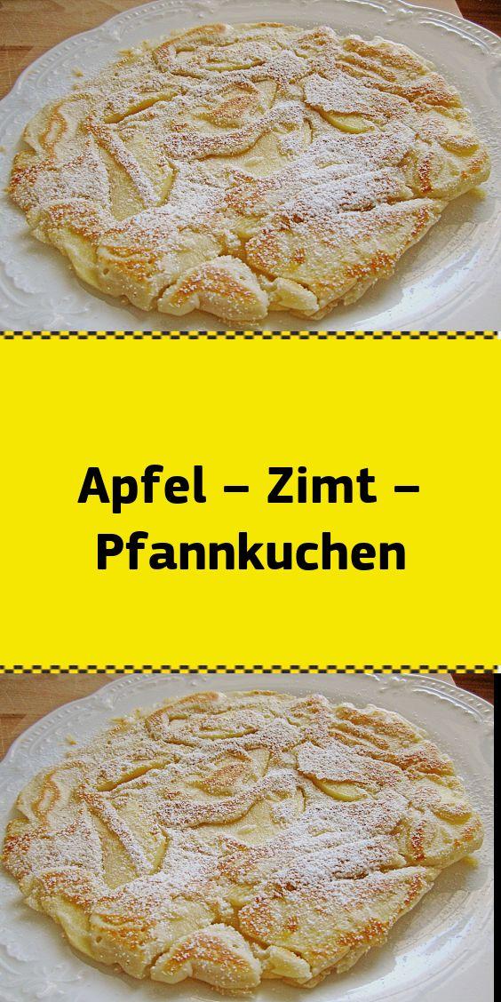 Apfel – Zimt – Pfannkuchen
