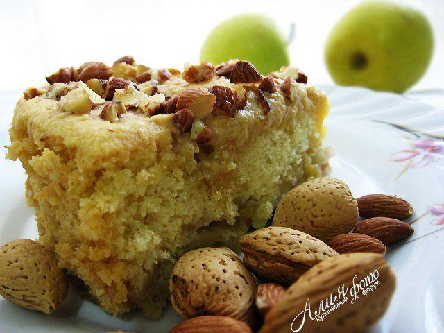 195. Мокрый яблочный пирог