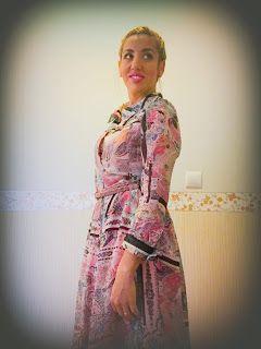 Las princesas tambien cosen : Vestido camisero