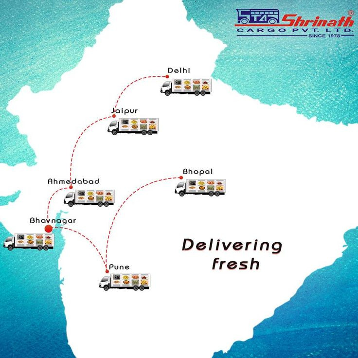 We even deliver packaged food through our #cargo unit. It is delivered fresh with proper care. #ShrinathGroupOfCompanies #Bhavnagar #Ahmedabad #Pune #Bhopal #Delhi #Jaipur