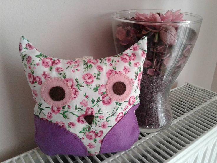 softie cute owl - sewing