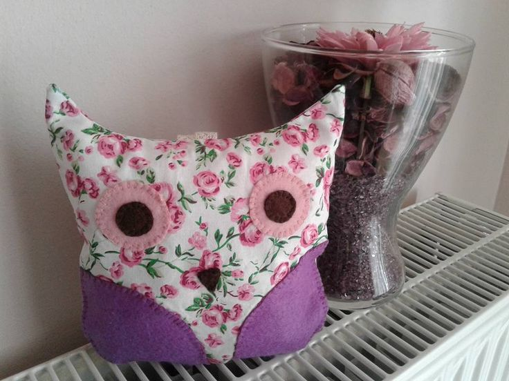 softie cute owl - sewing