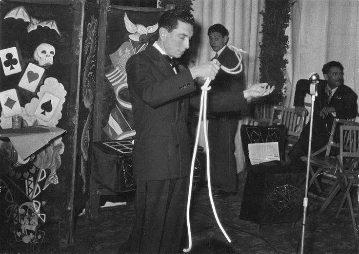 Il mago Dawson al Winter Garden - Palermo 1959 ca.