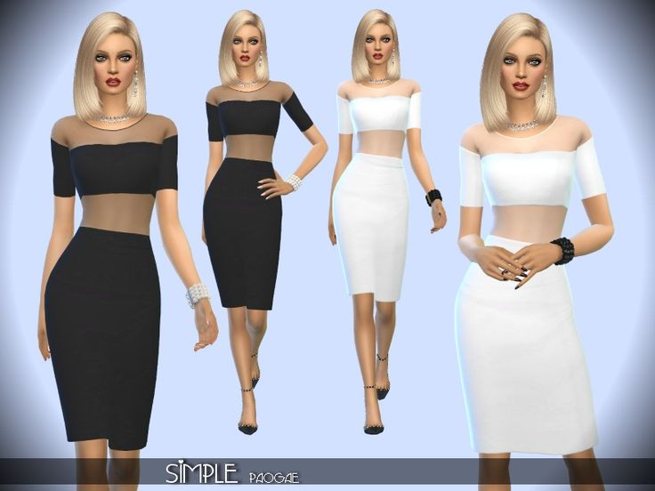 299 best The Sims 4 Clothing Female images on Pinterest | The sims ...