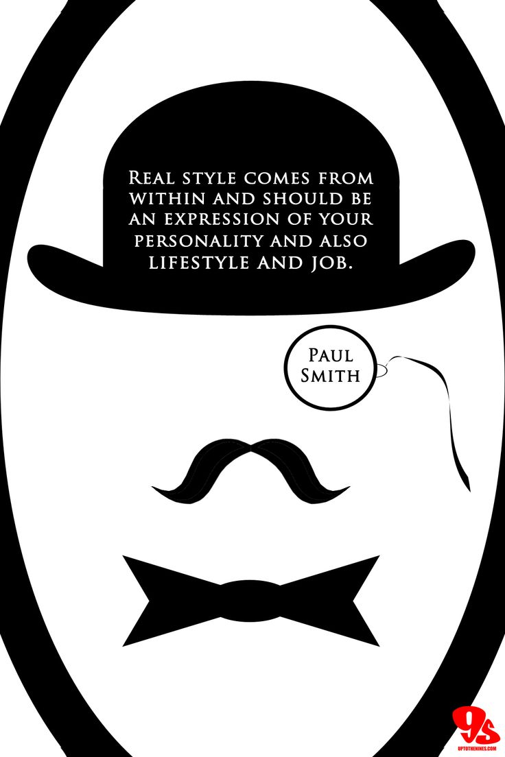 More inspiration from Paul Smith