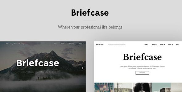 Briefcase is a full responsive layout portfolio for designers. Briefcase is perfect for those designers who want to show their work and skills in the same place. This template also includes a c...