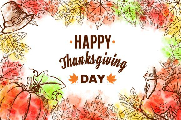 Happy Thanksgiving Set by romawka on @creativemarket