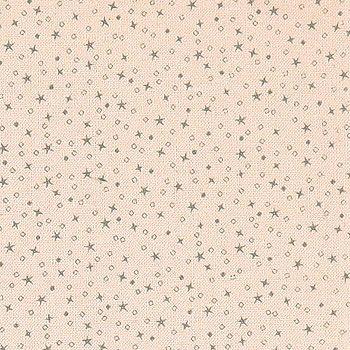 Bomull puder m små grå stjärnor