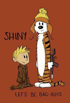 Firefly Calvin and Hobbes