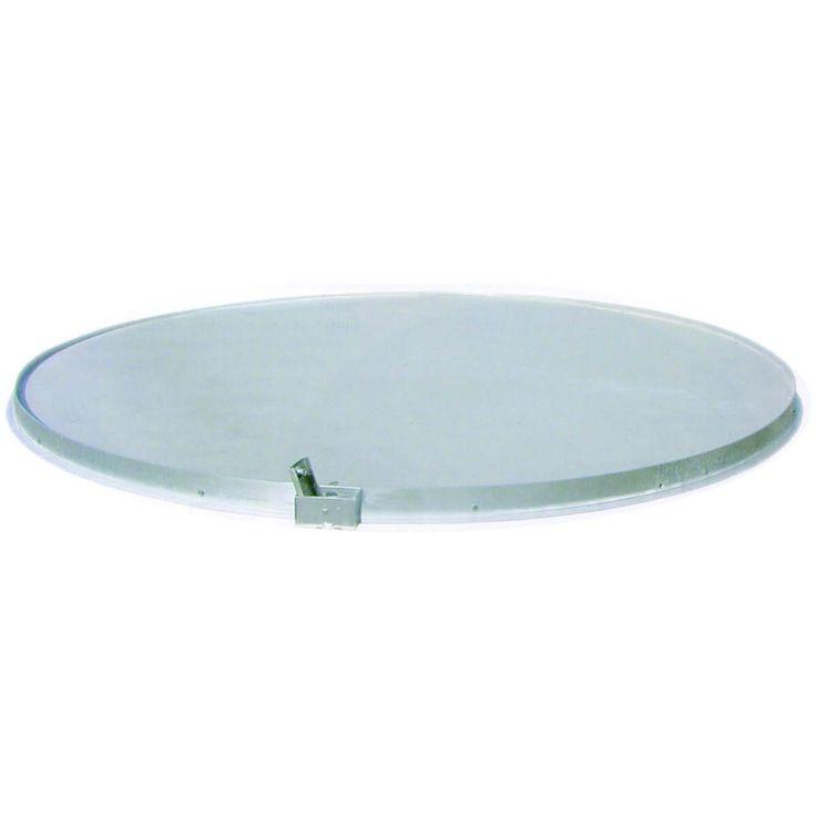 DISCUSRING.  Aluminium discusring met een doorsnede van 250 cm, inclusief betonplaat en revisieruimte voor afwatering. Ook leverbaar in uitvoering voor mindervaliden. IAAF-gecertificeerd.