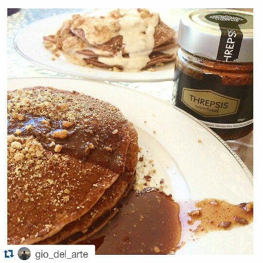 Threpsis superfood pancakes