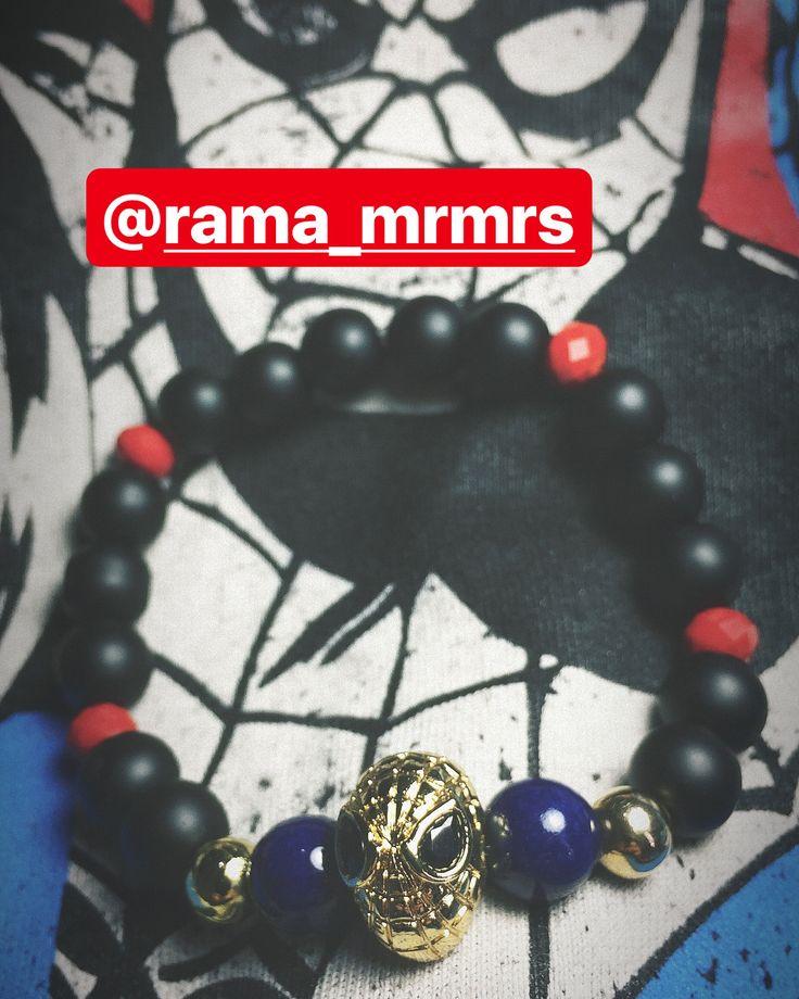 RAMA STYLE   Envíos a todo el país   #RAMA #colombia #spider #man #spiderman #hombrearaña #marvel #avengers #streetstyle #mensfashion #menstyle #superheros #peterparker #bogota #cali #medellin #red #blue #black #infinitywar #bracelets #pulsera #accesorios #accessorie