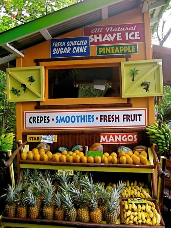 Fruit Stand, they are everywhere!