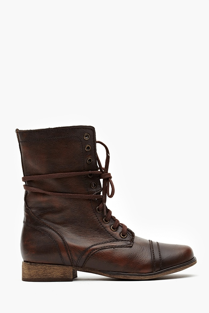 Troopa Combat Boot - Brown. Been needing some new brown boots.