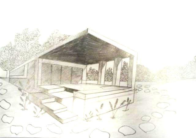 Mali Architekci  temat:dom w perspektywie