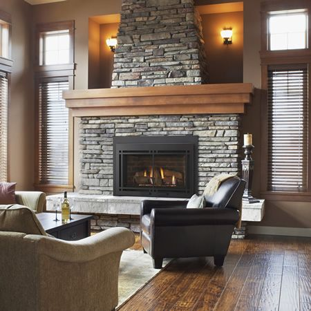 454 best Fireplaces images on Pinterest | Indoor fireplaces, Empire ...