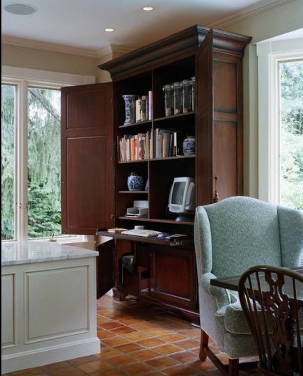 traditional hidden home office desk. Hidden Desk · DeskTraditional Home Traditional Office H