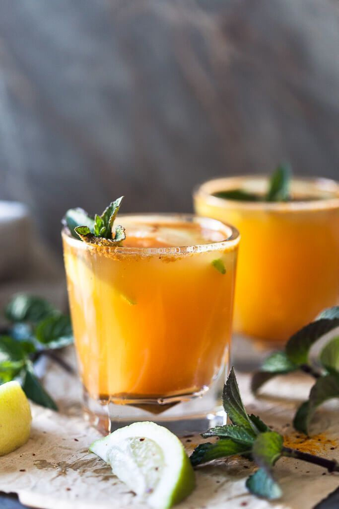 This Yellow Glow Energizing Water with Turmeric, Ginger, Cinnamon, and Chili will help you boost your immune system and is ready in just 15 minutes.