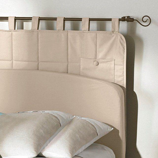 Testata letto trapuntata con tasche La Redoute Interieurs