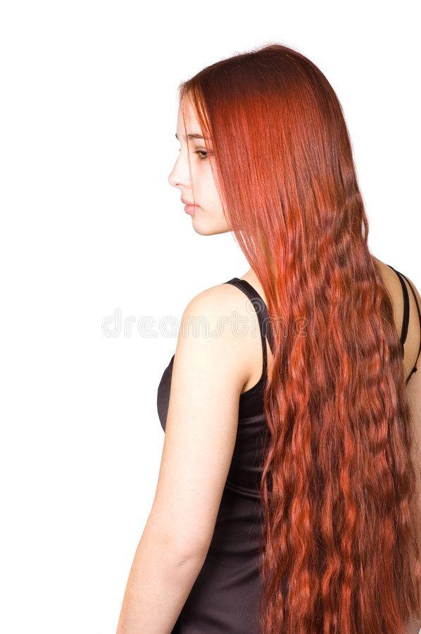 Beautiful Girl With Long Red Culry Hair Picture Of A Beautiful Girl With Long R Aff Long Girl Beauti In 2020 Long Curly Hair Curly Hair Styles Beautiful Hair