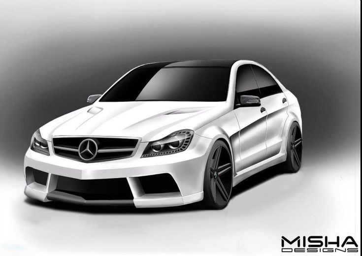 Misha Designs C class wide body kit will be available for all C and C63 models from 2008 to present , both coupe and 4 door versions.