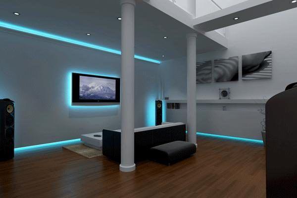Home Lighting 25 Led Lighting Ideas Led Living Room Lights Interior Led Lights Lighting Design Interior