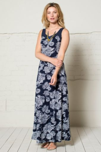 Jersey Maxi Dress from Nomads Clothing - Organic Cotton Jersey