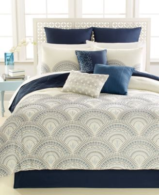 reese 10pc california king comforter set bed in a bag bed