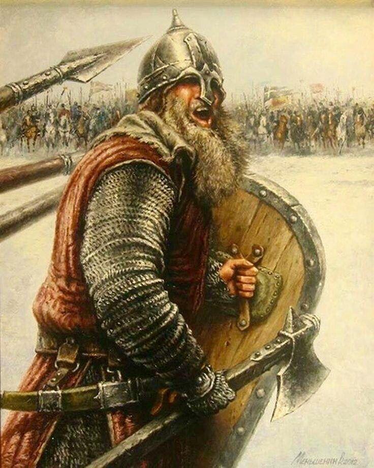 павильоне древнерусский воин варяг фото воевало протяжении всей