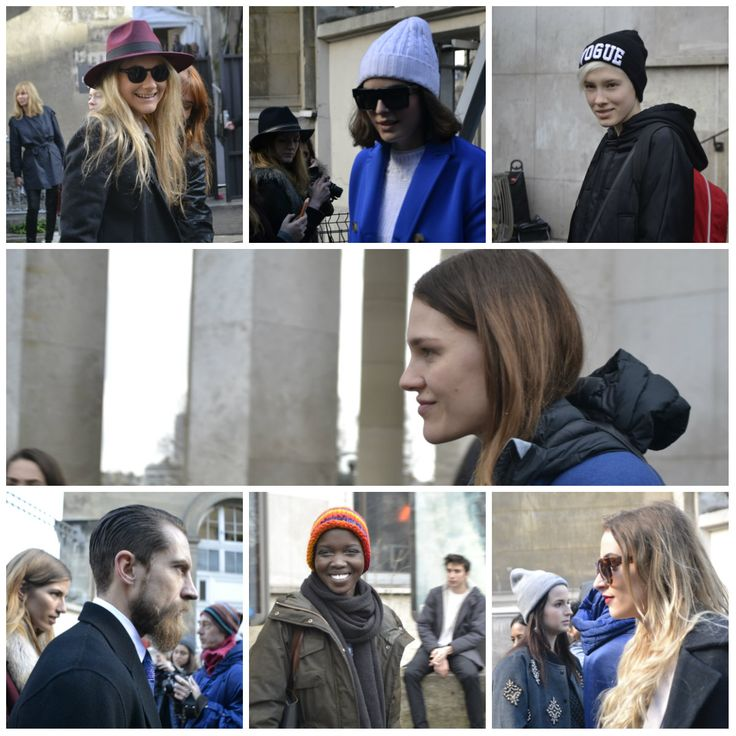 #ParisFashionWeek #faces #fashion #moments  By @StylemeZu!