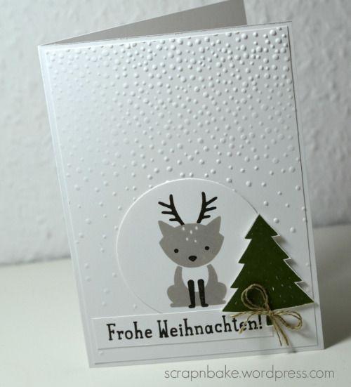 Stampin' UP! - Christmas - Weihnachten - Foxy Friends