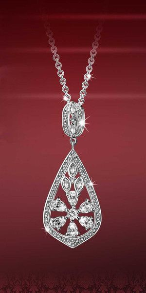 Introducing the Vintage Collection by Newbridge Silverware An authentic collection of jewellery and gIftware featuring orginal designs from centuries past This exquisite crystal studded necklace revives the brilliance of the Art deco era The essence of glamour and sophistication Matching earrings also available