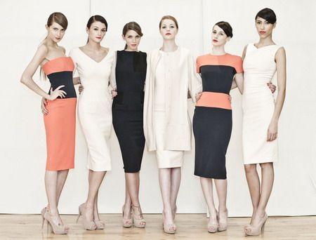 Ladies Business Suits | Women Business Suits Victoria Beckham Collection : women business ...