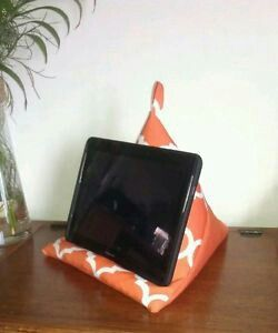 iPad Pillow. comfortably supports your device while lounging or in bed. Available on ebay $12.50