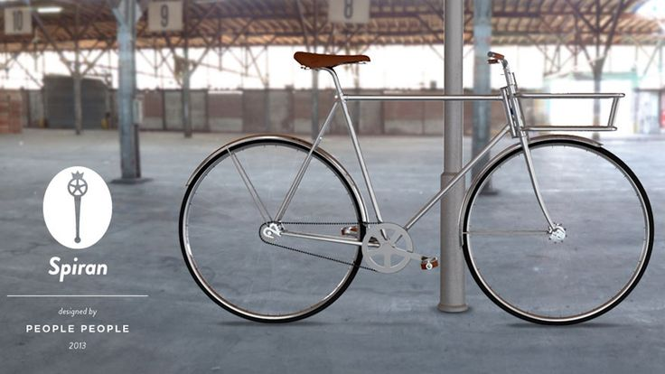 Spiran bicycle designed by PeoplePeople