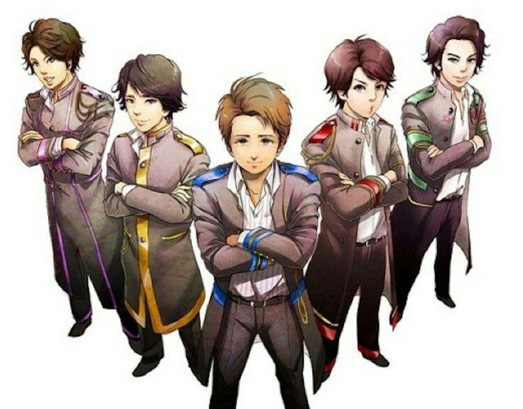 Arashi anime.. fanart version