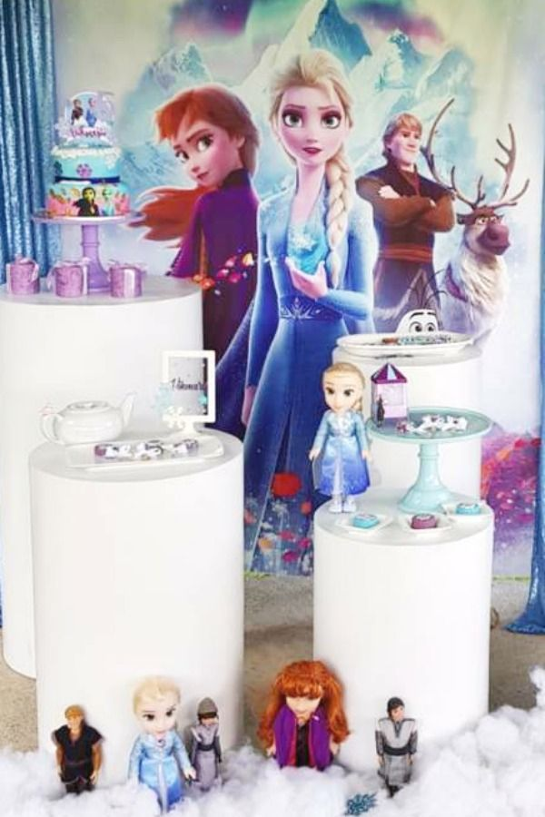 Frozen Ii Birthday Party Ideas In 2020 Girls Birthday Party