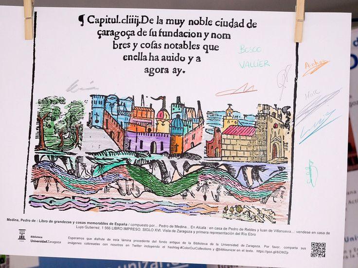 Participación de las bibliotecas del Campus de Huesca en la Caseta de la Universidad de Zaragoza en la Feria del Libro de Huesca 2016 (del 27 de mayo al 5 de junio). Actividad: ILUMINA NUESTRAS COLECCIONES.