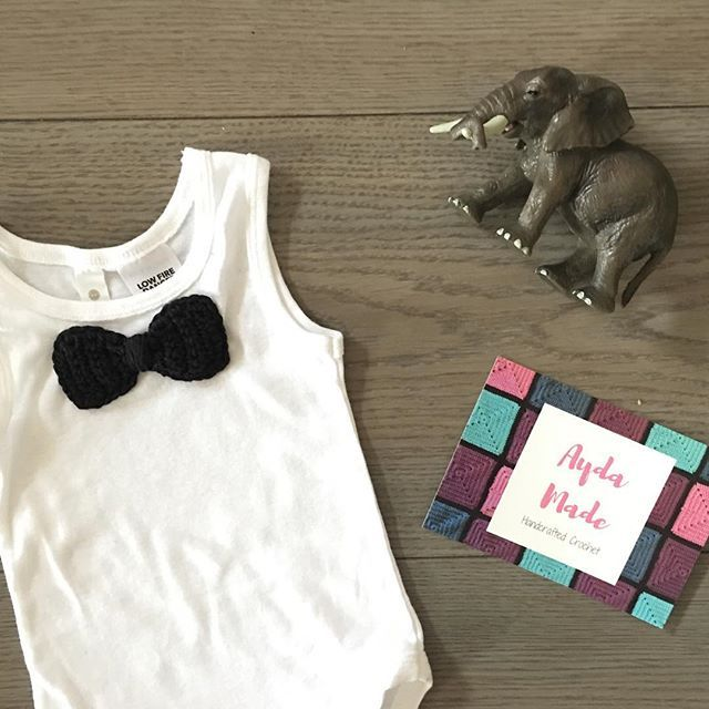 We can't wait to see this super cute outfit on the handsome little man who ordered it! Look out buddy, it's on the way!  #aydamade #aydamadecrochet