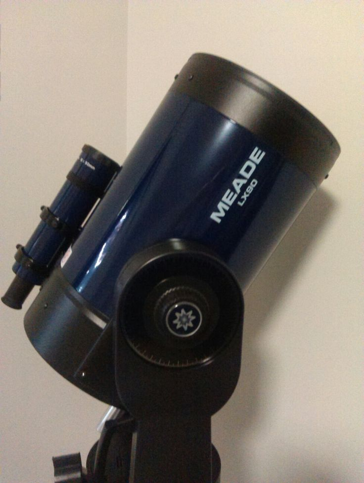 My Meade Lx90 10 inch Smit Cassegrain Reflector with GPS.