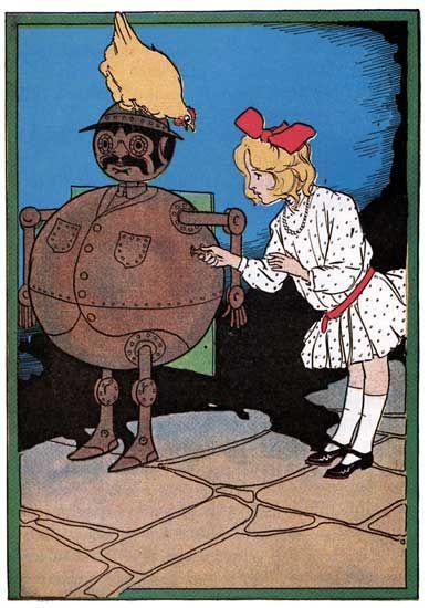 Illustrations by John R. Neill from Ozma of Oz (1906