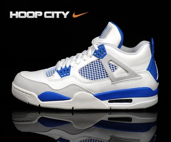 Air Jordan IV – White – Neutral Grey – Military BlueRunning Shoes, Jordans 4, Military Blue, Air Jordans, June 2012, Jordans Iv, Release June, Jordans Retro, Iv Military
