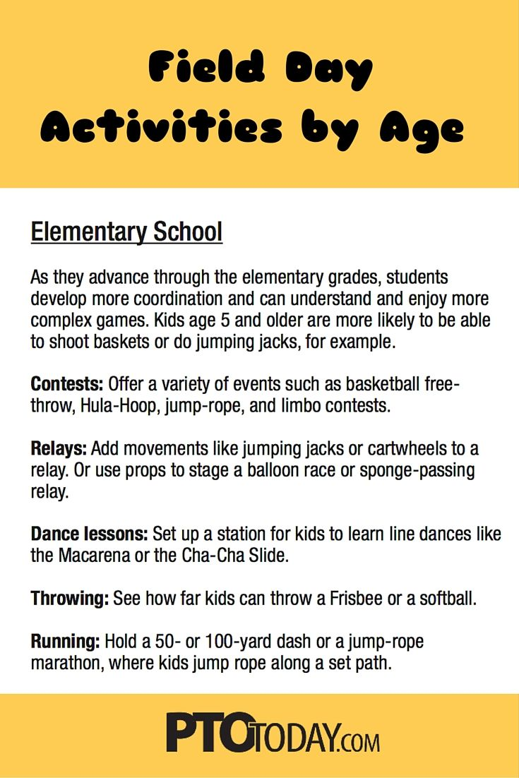 Field Day Activities Ideas By Age Spring Events Field Day