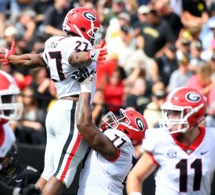 College football rankings: First 2017 Playoff poll features Georgia, Alabama at the top